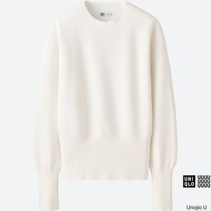 Uniqlo U Cotton Milano Ribbed Sweater